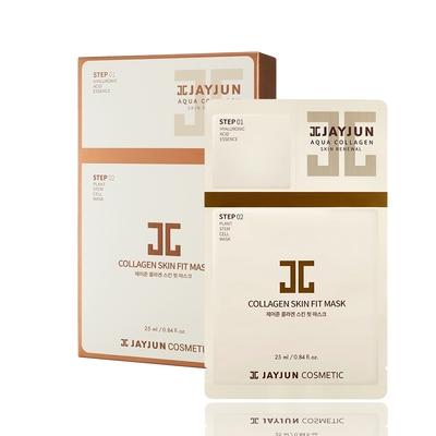 (即期品)JAYJUN 膠原導入逆齡植物面膜10入/盒(精華1.5ml+面膜25ml)-(效期:2021/5/22)