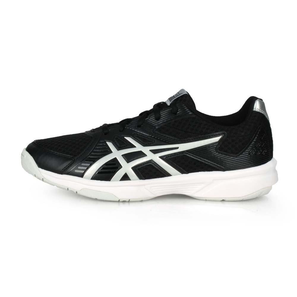 ASICS 男 排羽球鞋 UPCOURT 3 黑白