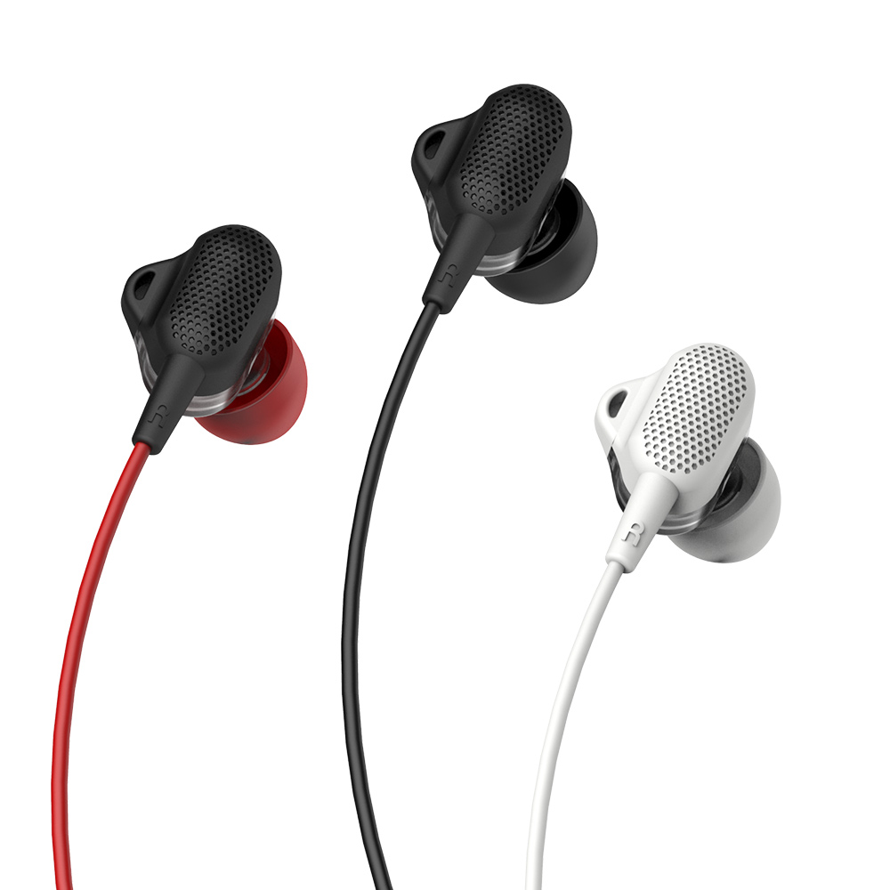 Tuddrom小魔鴨 H3 震撼低音雙動圈入耳式線控耳機