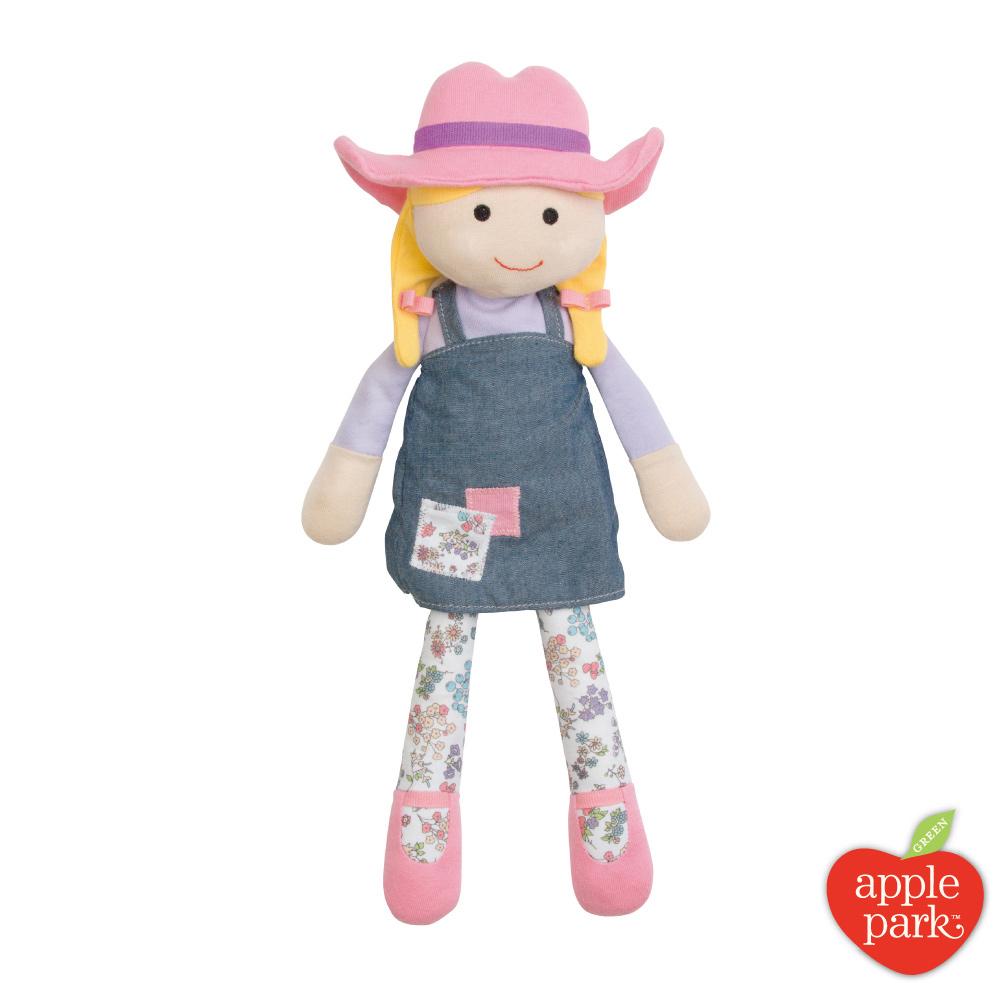 【美國 Apple Park】農場好朋友 安撫玩偶 - 農場女孩