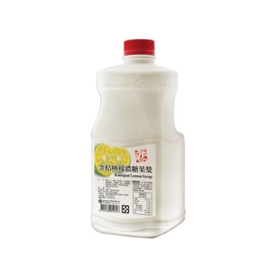 【戀】金桔檸檬濃糖果漿2.5kg