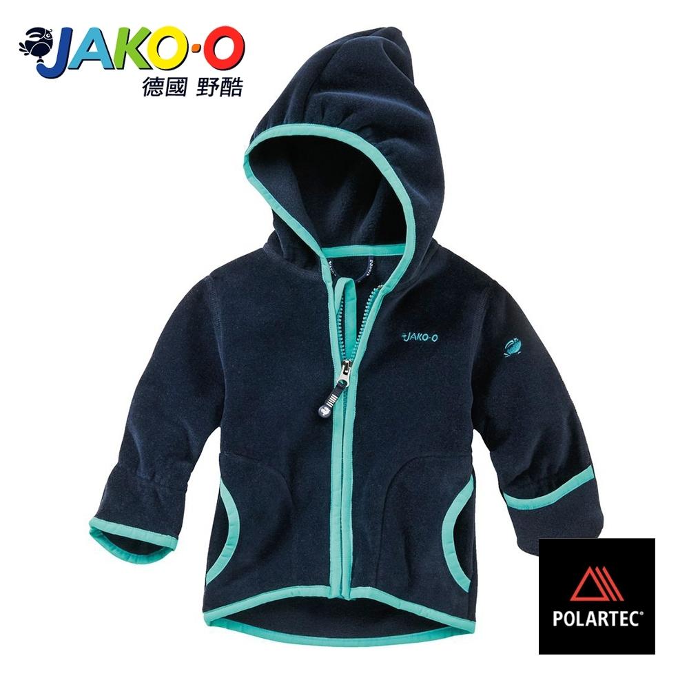 JAKO-O德國野酷-POLARTEC護手保暖連帽外套-海軍藍  兒童雪衣