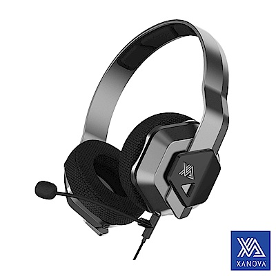 【XANOVA星極】Ocala 超輕量 7.1立體聲道行動型電競耳機