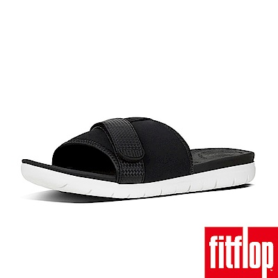 FitFlop NEOFLEX SLIDE SANDALS-黑色