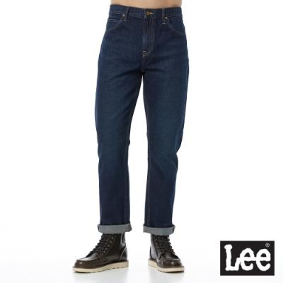 Lee 牛仔褲 728 中腰標準舒適直筒 男 深藍