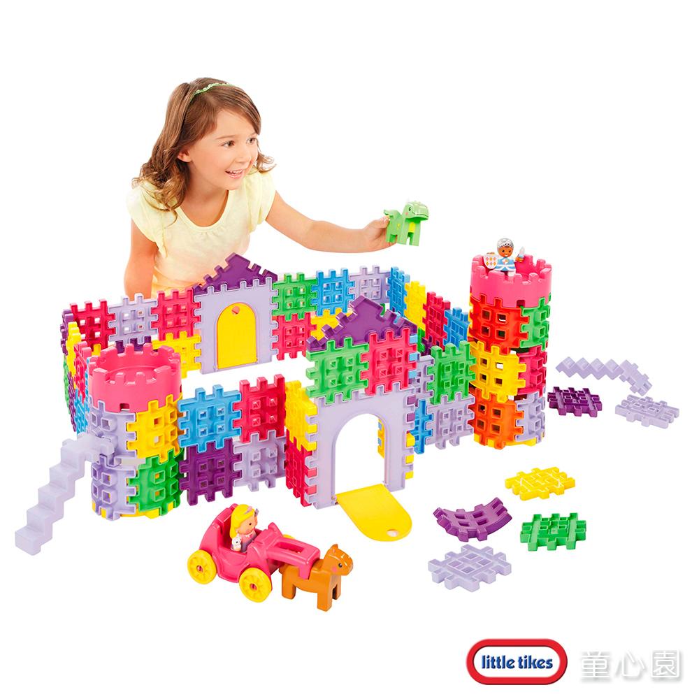 美國 LittleTikes 鬆餅積木-城堡(2Y+)