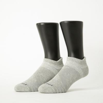 Footer除臭襪-X型減壓經典護足船短襪-六雙入(黑色*2+深灰*2+淺灰*2)