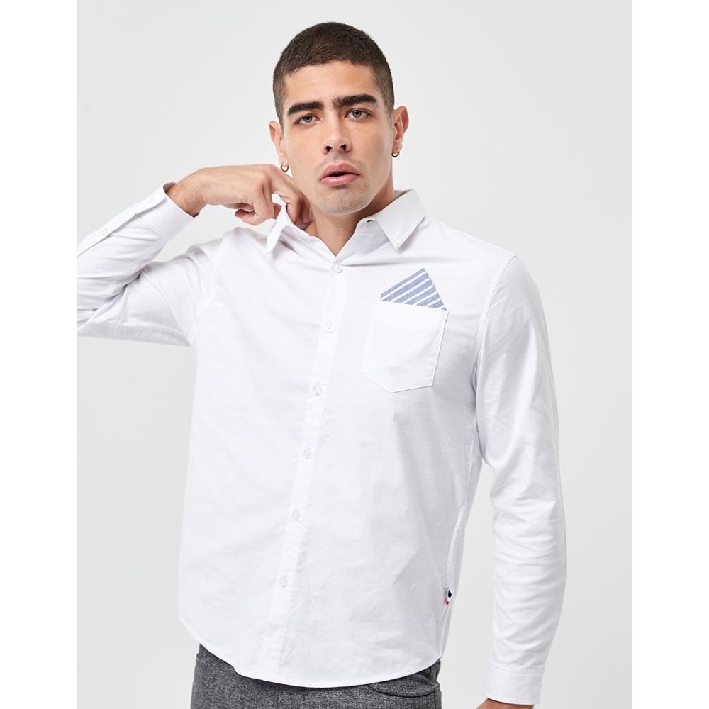 CACO-彈性牛津襯衫(兩色)-男【UAR011】