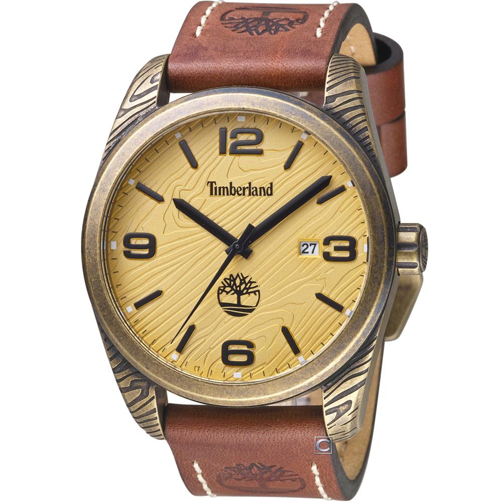 Timberland 木林遍野時尚腕錶(TBL.15258JSQA/07)46mm