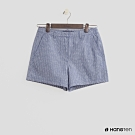 Hang Ten - 女裝 - 經典簡約配色中腰短褲 - 深藍