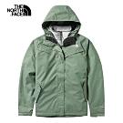 The North Face北面女款綠色防水透氣戶外三合一外套|497ML63