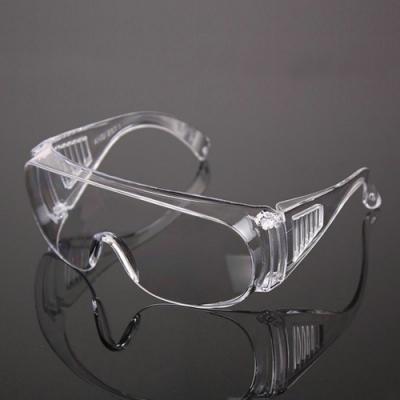 實驗用一次性防濺射防飛沫護目鏡(3入)可內搭眼鏡