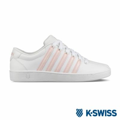[零碼出清]K-SWISS Court Pro II CMF時尚運動鞋-女-白/粉紅
