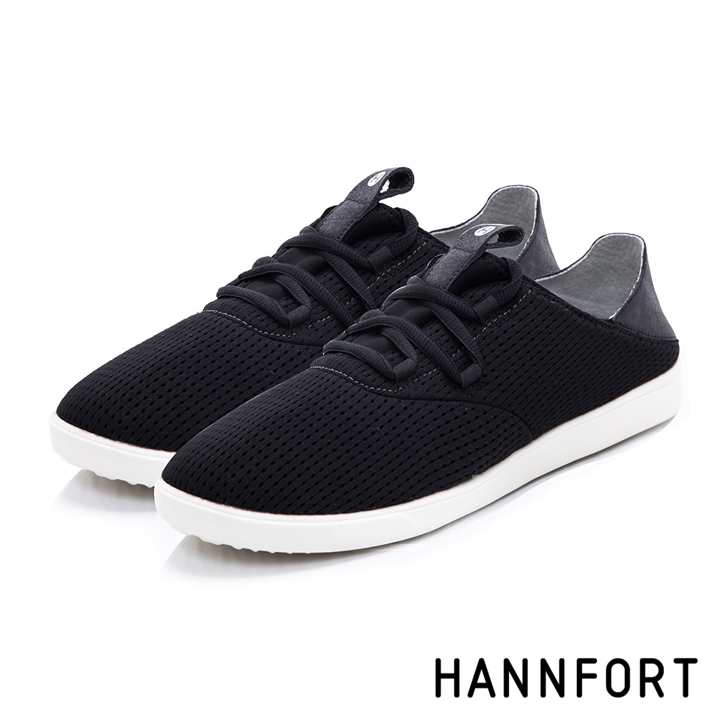 HANNFORT 休閒鞋 CARIBBEAN 2Way後踩運動休旅鞋-男-黑