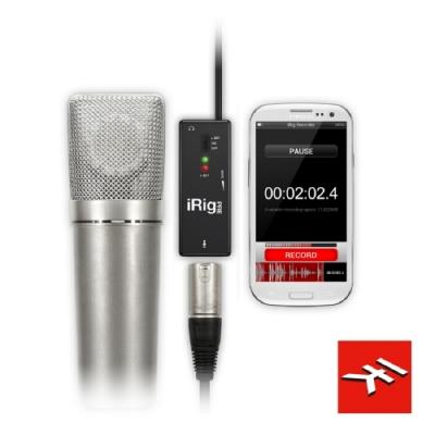 IK Multimedia iRig PRE行動麥克風前級/專業音質隨身錄