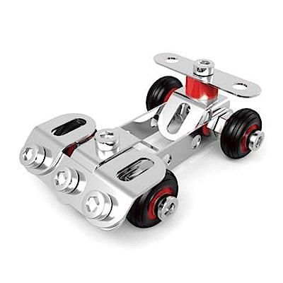 ZEYE-益智金屬積木-競賽車(組裝模型)