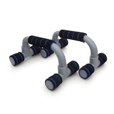 INSTAR 伏地挺身握把 組合式-健身 肌肉訓練 有氧 一盒2入裝 6008702 黑藍