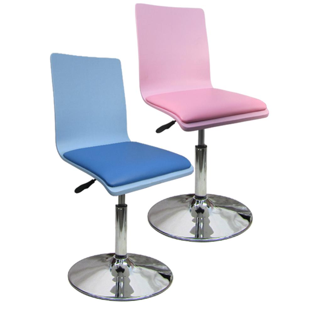 邏爵家具~ 童話款低吧椅 事務椅 曲木椅 辦公椅(兩色)