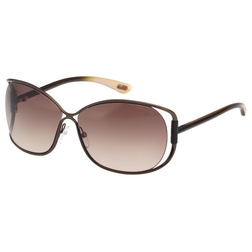 TOM FORD 經典款 太陽眼鏡-古銅色-TF156 @ Y!購物