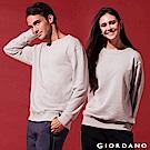 GIORDANO 中性款素色寬鬆落肩大學TEE-06 高級灰