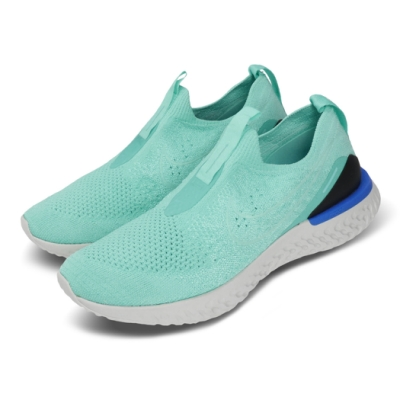 Nike 慢跑鞋 Phantom React 女鞋 襪套 輕量 透氣 舒適 避震 運動 綠 黑 BV0415300