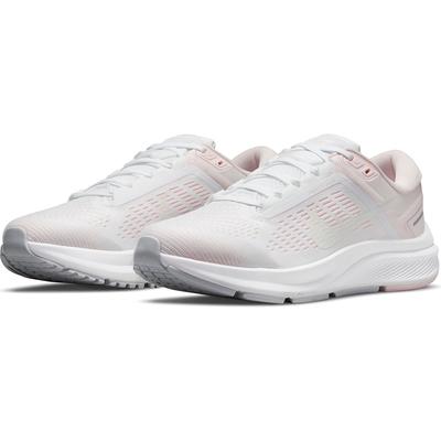 NIKE 耐吉 慢跑鞋 運動鞋 緩震 女鞋 粉白 DA8570-101 W AIR ZOOM STRUCTURE 24
