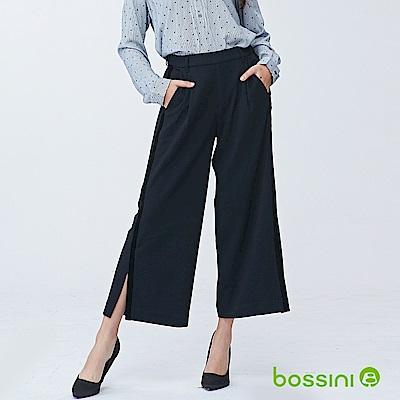 bossini女裝-彈性修身褲05黑
