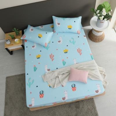 岱思夢 天絲床包枕套組 3M吸濕排汗技術 雙人 TENCEL 沙漠駱駝