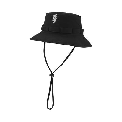 Nike 漁夫帽 Zion Bucket 男女款 喬丹 飛人 遮陽 休閒穿搭 外出郊遊 黑 白 DJ6123-010