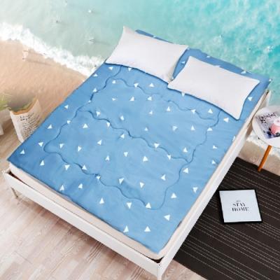 【Effect】日式可折疊夏日軟床墊(單、雙、雙人加大任選)