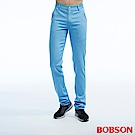 BOBSON 男款低腰吸濕快乾藍色色褲