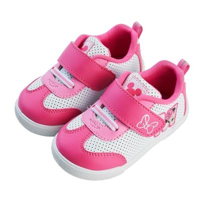 迪士尼童鞋 米妮 反光安全設計休閒鞋
