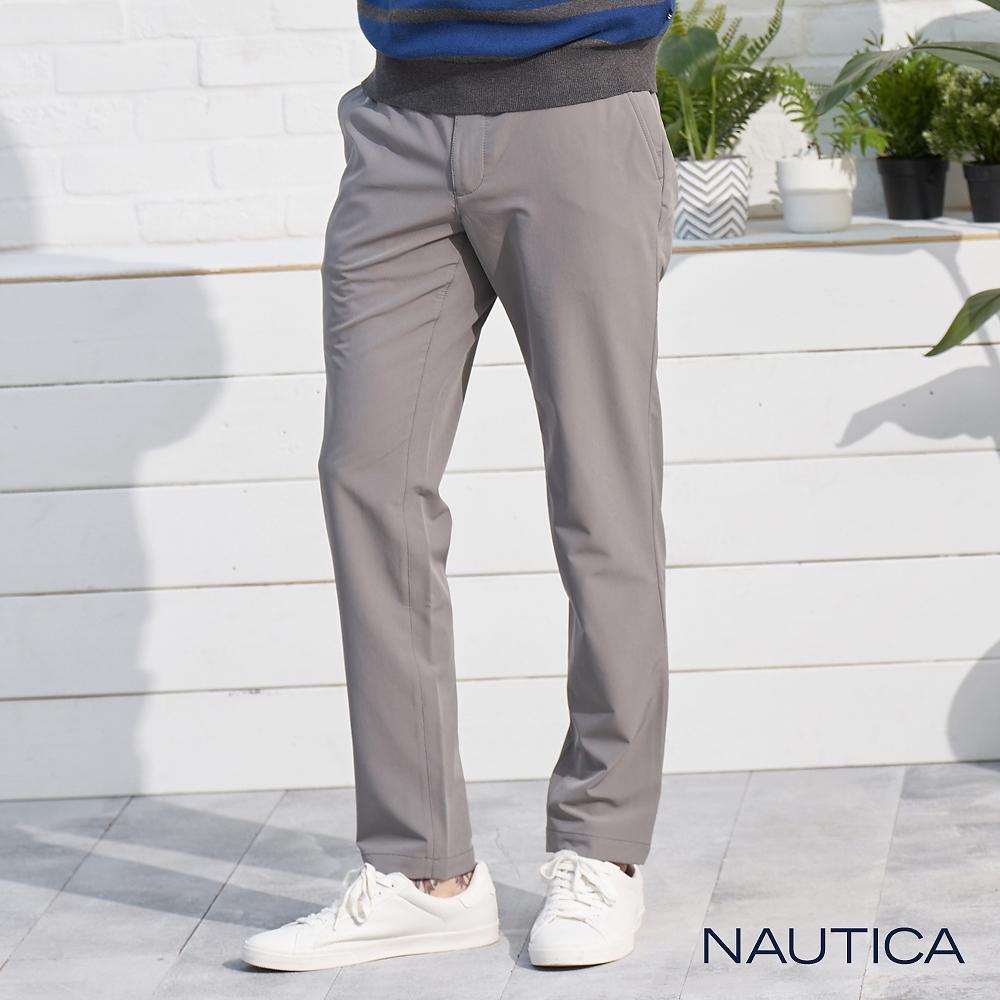 Nautica防潑水彈性透氣長褲 -灰色