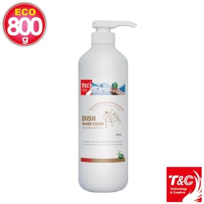 T&C 海洋元素系列 餐具清潔乳800克 (3入組)