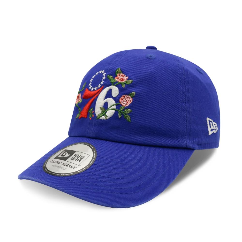 New Era 9TWENTY 920 NBA 粉紅玫瑰 棒球帽 76人