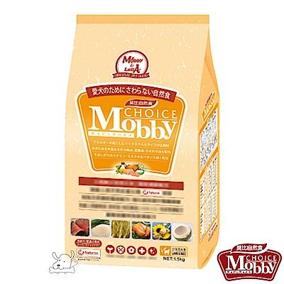 Mobby 莫比 羊肉+米 肥滿/高齡犬配方飼料 15公斤 X 1包