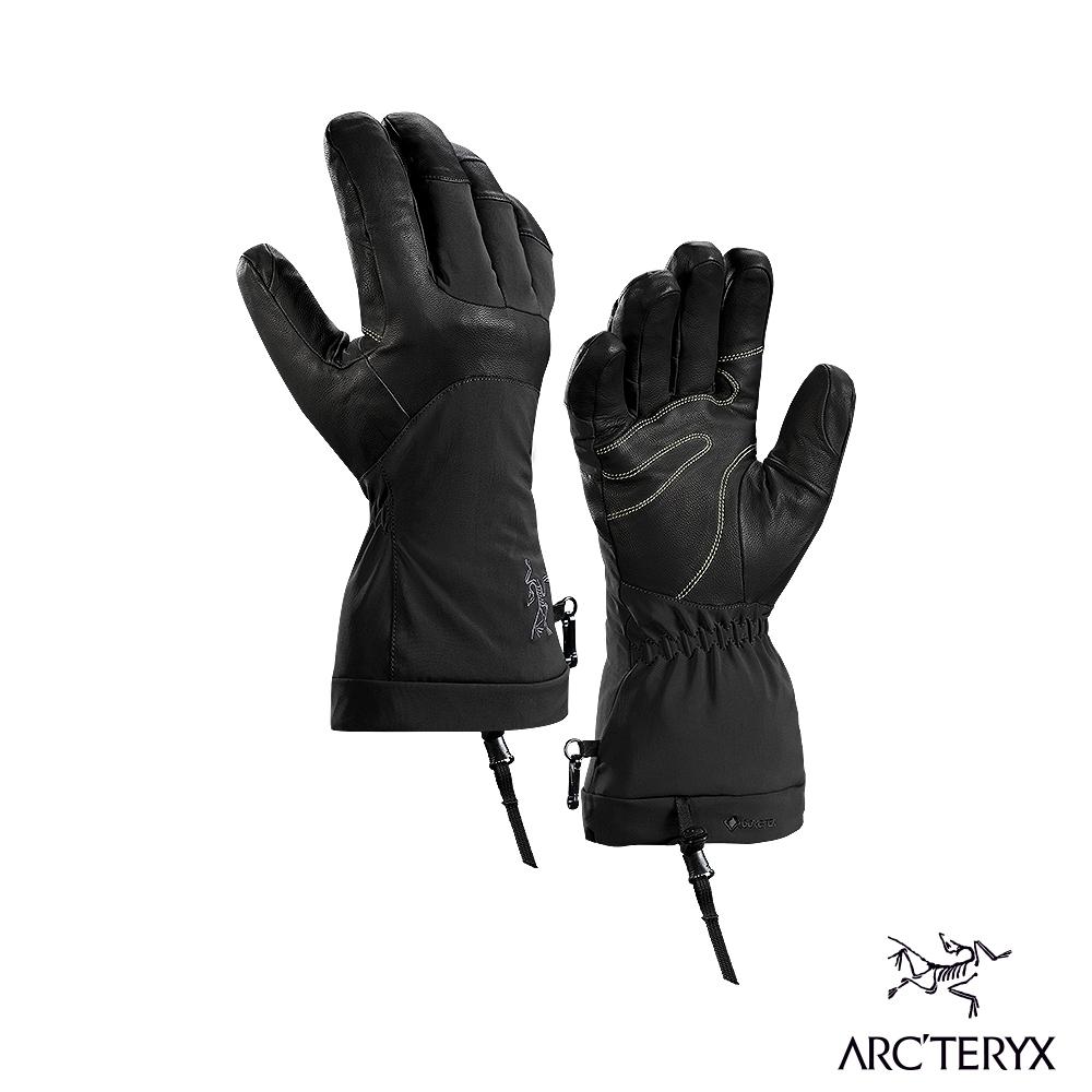 Arcteryx 始祖鳥 Fission SV GTX 耐磨保暖 防水手套 黑/紅