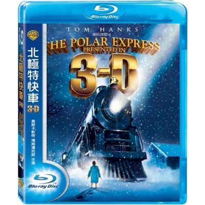北極特快車 The Polar Express  藍光 BD