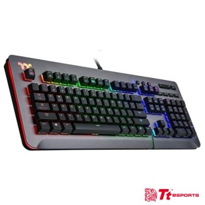 曜越 Level 20 RGB Cherry MX 機械式銀軸電競鍵盤鈦灰特仕版