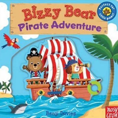 Bizzy Bear:Pirate Adventure 海盜冒險熊熊新奇操作書(英國版)