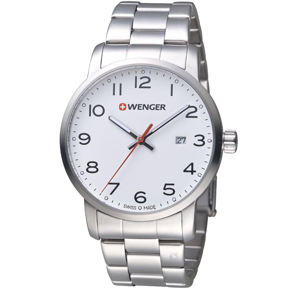 WENGER Avenue 城市雅痞時尚腕錶(01.1641.104)42mm