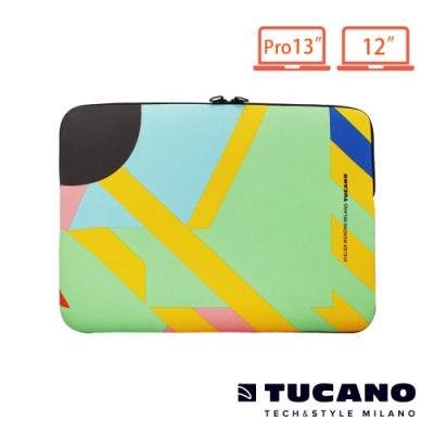 TUCANO X MENDINI時尚設計筆電包(筆電12吋/MB Pro13吋)-繽紛幾何