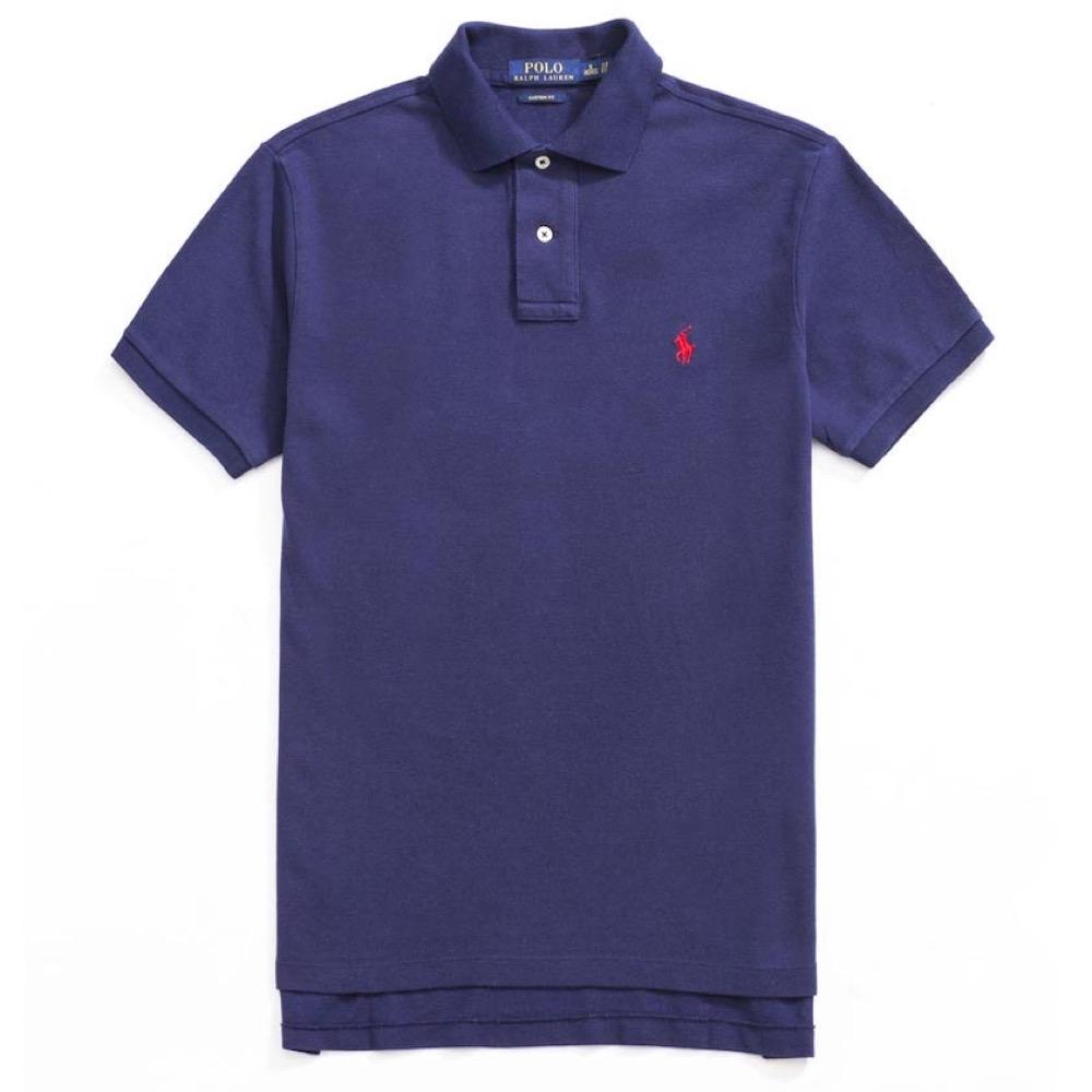 Polo Ralph Lauren 經典電繡小馬Polo衫(Custom)-深藍色