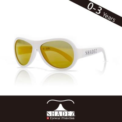 瑞士SHADEZ 兒童太陽眼鏡SHZ-10(年齡0-3)--純淨白