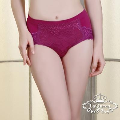 塑褲 雙面彈力提臀蠶絲輕塑褲-深紫 La Queen