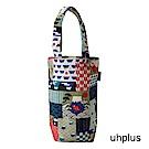 uhplus Love Life 隨行環保飲料袋(長版)- 富士花和柄