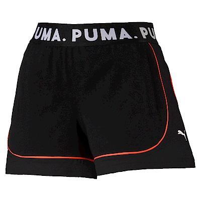 PUMA-女性流行系列Chase短褲-黑色-歐規