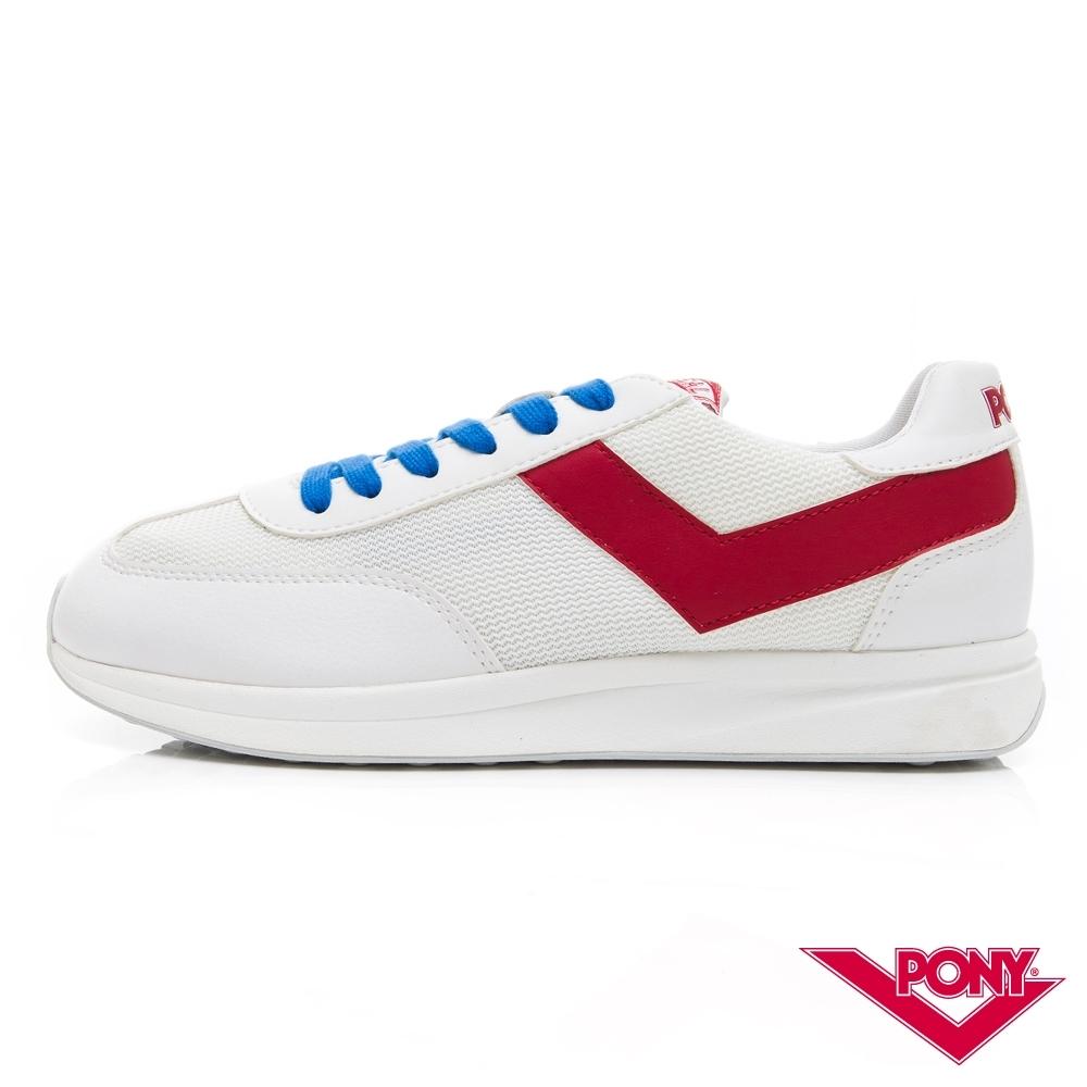 【PONY】Montreal  甜蜜配色復古運動鞋 慢跑鞋 休閒鞋-女鞋-紅色