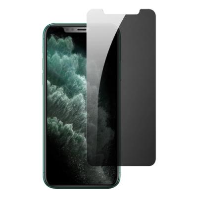 iPhone 11非滿版半屏防窺 9H鋼化玻璃膜 手機螢幕保護貼