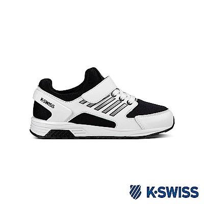 K-Swiss SI-18 Trainer休閒運動鞋-童-白/黑/銀